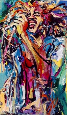 Bob Marley Painting in love with all of the colors. Amazinggggg