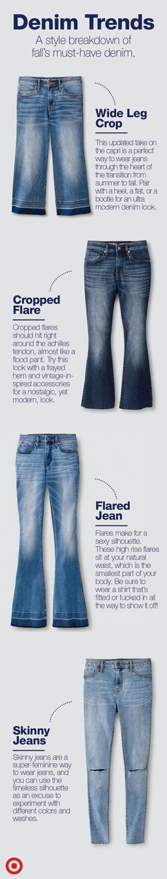 Want to shimmy into fall in jeans? You're in luck, because this season there are a ton of ways you can wear denim through the transitional months.