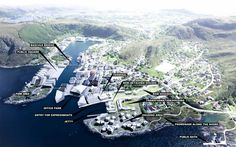 karres+brands & Ghilardi+Helsten (2015): Town development project, Fosnavåg (NO), via competitionline.com