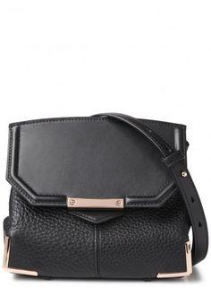 Alexander Wang | Marion Prisma black leather cross-body bag