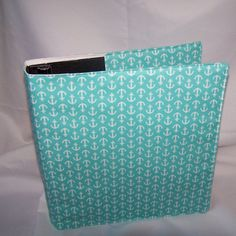 Anchor  fabric Binder Cover Coupon Binder/School by lisalynnitems