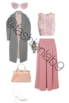 """""""Pisces vibes"""" by fashionlab9 on Polyvore featuring Mother of Pearl, TIBI, Fendi, Maison Margiela and Rolex"""