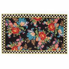 MacKenzie-Childs - Flower Market Rug - 9' x 12'