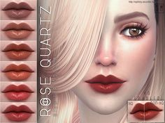 Sims 4 CC's - The Best: Rich Lip Colour by Screaming Mustard