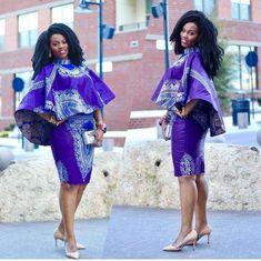 Handmade Customised Dashiki Ankara African Print For Women African Print Dresses, African Fashion Dresses, African Dress, Fashion Outfits, Fashion Ideas, Fashion Tips, African Attire, African Wear, African Women