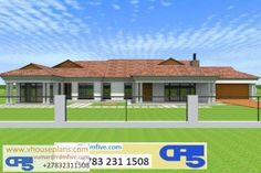 Overall Dimensions- x 2 Car Garage Area- Square meters Round House Plans, Tuscan House Plans, Small Modern House Plans, Free House Plans, Beautiful House Plans, Garage House Plans, House Floor Plans, Beautiful Homes, House Roof Design