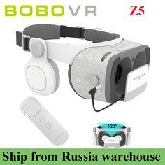c1464dbb3601 BOBOVR Z5 Daydream Stereo for 4.7-6.2 inch+ Gyro VR Controller Cardboard  Helmet Virtual Reality 3D Glasses VR Phone Headset Box