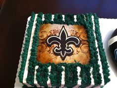 New Orleans Saints Football Cake