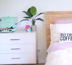 This is so bright and modern, and tumblr. Good job Alisha! You are my apartment…