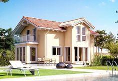 Evolution 122 V4 - Baufritz. Das Glanzstück des Einfamilienhauses Evolution 122 V4 ist der großzügig gestaltete Wohn- und Essbereich mit Erker. In Letzterem kann ein Wintergarten mit e