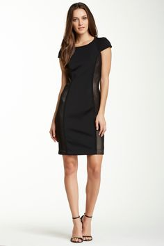 39bb49c058e DS Dress by Debbie Shuchat Cap Sleeve Net Inset Dress Daytime Dresses