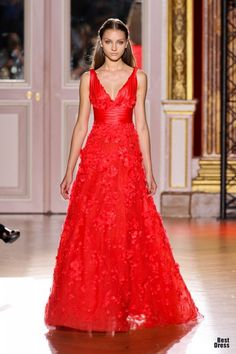 Red WoW Dress - Zuhair Murad 2012/2013