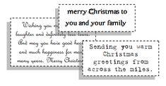 greeting cards sayings for Christmas