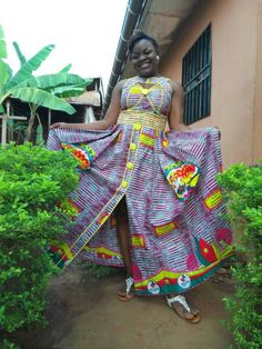 African Maxi Dresses, African Attire, African Wear, Afrocentric Clothing, Denim Maxi Dress, African Blouses, Africa Fashion, Colorful Fashion, Designer Dresses