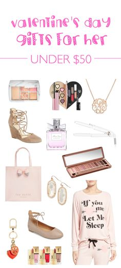 A roundup of gifts for every woman on your list! Your mom, sister, girlfriend, best friend, wife, grandmother, neighbor - spoil them all with affordable gifts for her! From an Urban Decay Naked Palette to a Ted Baker purse, Kendra Scott earrings and more!