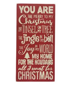 Another great find on Red 'Hope Noel Peace Tree' Wall Sign by Sara's Signs Christmas Quotes, Christmas Signs, Christmas Greetings, All Things Christmas, Christmas Holidays, Christmas Crafts, Christmas Decorations, Christmas Ideas, Merry Christmas