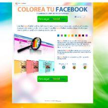 Agreggador - colore tu facebook...A cor do seu Facebook...