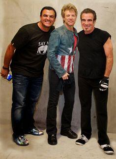 Ryan O'Connor and Bon Jovi