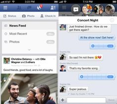 Facebook For iPhone And iPad Updated