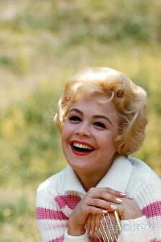 Sandra Dee. Loved her sooo much with Bobby Darrin.