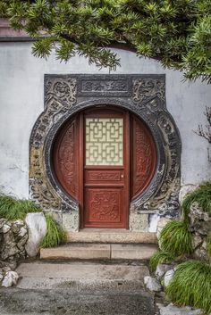 Suzhou Chinese Classical Garden Gates
