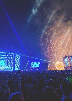 EDC Fireworks | Rukes  #edm #insomniacevents #edc