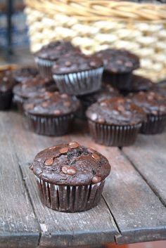 Las maría cocinillas: Muffins de Chocolate tipo Starbucks