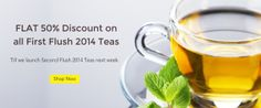 Golden Tips Tea offer 40% discount on all first flush tea. We are having variety of collections of teas and you can choose according to your test.