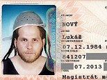 'I'm a Pastafarian': Man who claims his religion forces him to wear a sieve on his head given permission to wear one on his official identity card picture 'Pastafarian' man allowed to wear sieve in his identity photo Lukas Novy earned the right to wear the sieve as part of his faith He says he belongs to the Church of the Flying Spaghetti Monster | DailyMail.co.uk