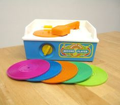 Fisher Price Record Player; actually played music!!