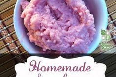 Homemade Healthy Strawberry Gelato Recipe