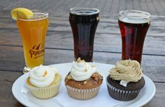 Sweet & Stout: Beer-infused cupcakes and desserts - what an awesome picture...