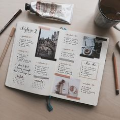 acadaemic: I was craving coffee for the entire week, so that ended up reflecting on this spread ☕️ I'd also like to thank everyone, who left a nice comment under my last weekly spread, you guys are t