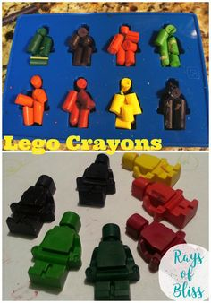 For the favor bags I wanted to include a couple of DIY crafts. I decided to go with a lego figure crayon and a lego block soap! They were a huge hit and super easy to make! I used a snack baggie for my favors and stapled on a Lego Ninjago Thank You for Coming …