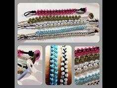 DIY: Braided Bead Stackable Bracelets