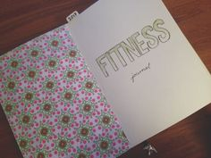 #fitness #journal