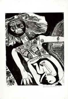 Artist: HANRAHAN, Barbara | Title: My boy lollipop | Date: 1964 | Technique: etching, printed in black, with plate-tone, from one  plate