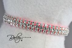 🐾 Our rhinestone collars are designed using larger more brilliant Preciosa® crystals set in the highest quality silver setting available. Precisoa® GENUINE CZECH CRYSTAL™ is the brand name for precision-cut crystals. They are designed to maximize light from every angle for more intense