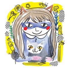 Crafterella guest art by Lisa Cinar