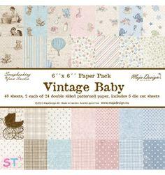 Paper pad Vintage Baby 6x6