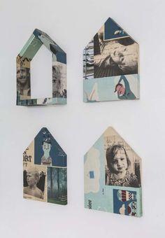 Keltainen talo rannalla: Modernia, vintagea ja väriä