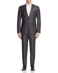 John Varvatos Star Usa Luxe Nailhead Slim Fit Suit