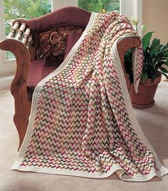 Themes  Variations, part of Crochet World's FREE Afghan of the Month. Get the download here: http://www.crochet-world.com/scrap_project.php?fcebkcw