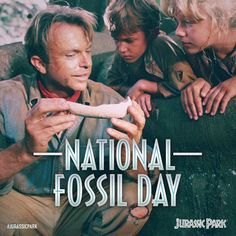 """(@jurassicworld) på Instagram: """"Uncovering the wonder of the past to discover the future. #NationalFossilDay"""""""