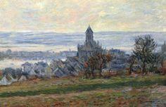 Claude Monet, L'église de Vétheuil (The Church of Vétheuil), 1881. Oil on canvas