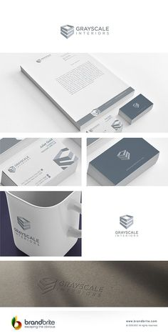 logo for grayscale interiors Logo design #126 by ulahts