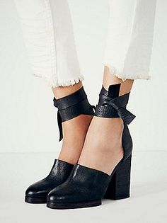 Free People Cora Wrap Heel at Free People Clothing Boutique