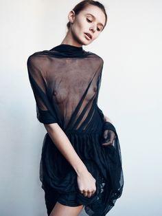 model – Jana Kruger.