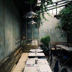 Beautiful interiors | Cafe Collette #newyorkcity #vscocam #vsco
