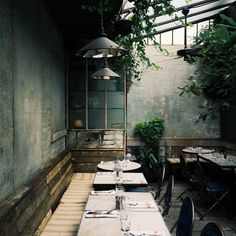 Beautiful interiors | Cafe Collette